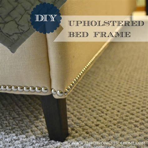 diy upholstered bed frame diy upholstered bed frame