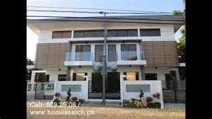 Modern Townhouse Designs And Floor Plans modern design duplex for sale php8 5m youtube