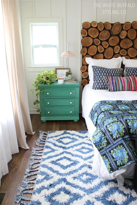 where to place a rug in a bedroom why every bedroom should have a moroccan shag rug