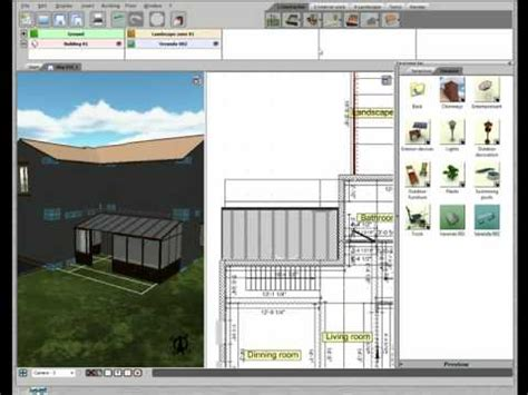 livecad 3d home design free 3d home design by livecad tutorials 19 the veranda youtube