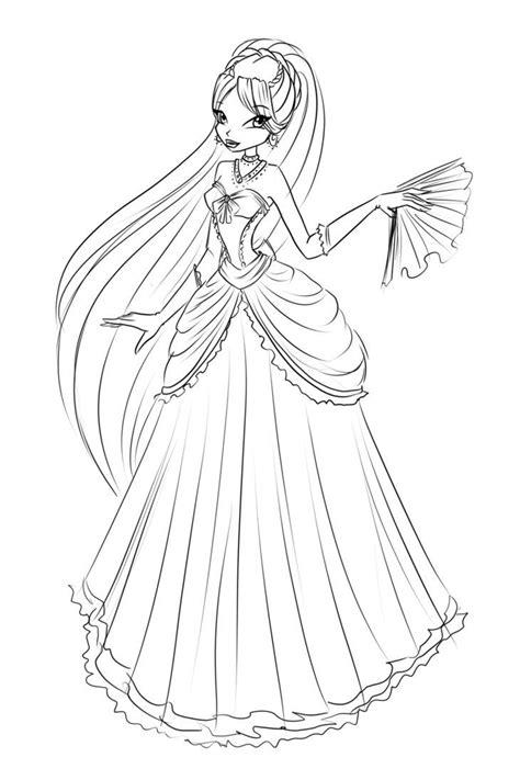 sketch diana ball dress  laminanati  deviantart