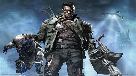 terminator console game wallpapers hd wallpapers id