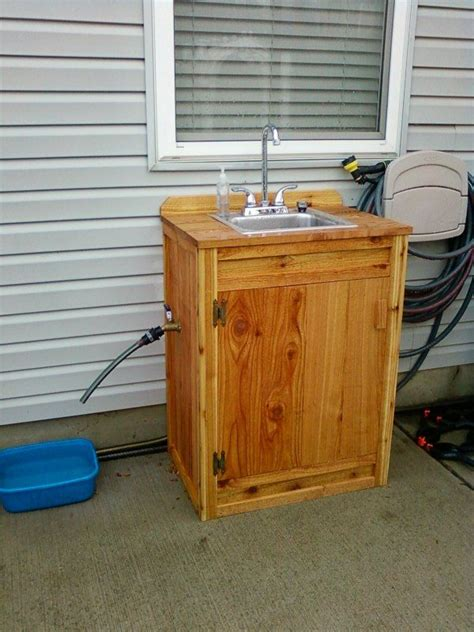 outdoor sink ideas pin by j hemenway on gardening tools sinks sheds and