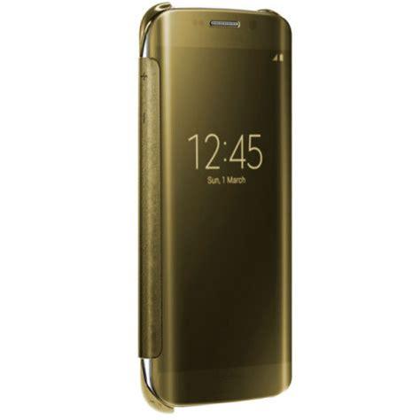 Original Samsung Clear Galaxy S7 Edge Gold Original 1 original samsung galaxy s6 edge clear view cover in