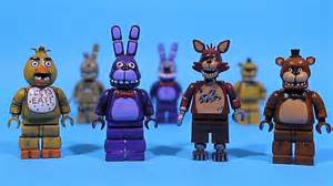 Lego five nights at freddy s figures part 9 chica foxy bonnie freddy