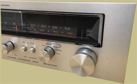 Kenwood Bass Knob by Kenwood Kr 2090 Classic Receivers