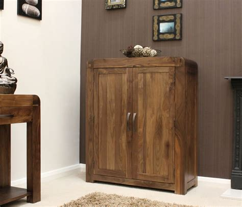 Hallway Shoe Storage Cabinet Strathmore Solid Walnut Home Furniture Hallway Shoe Storage Cabinet Cupboard Rac Ebay