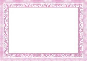 damask borders a5 portrait insert in pink cup184817 593