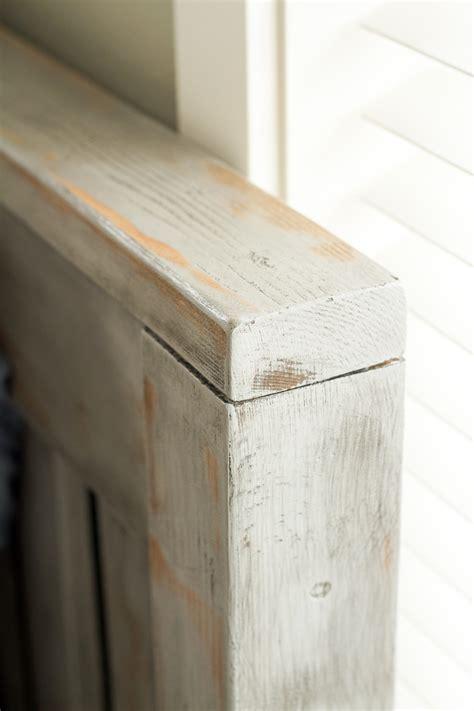 diy chalk paint on wood diy rustic weathered wood finish lulu the baker