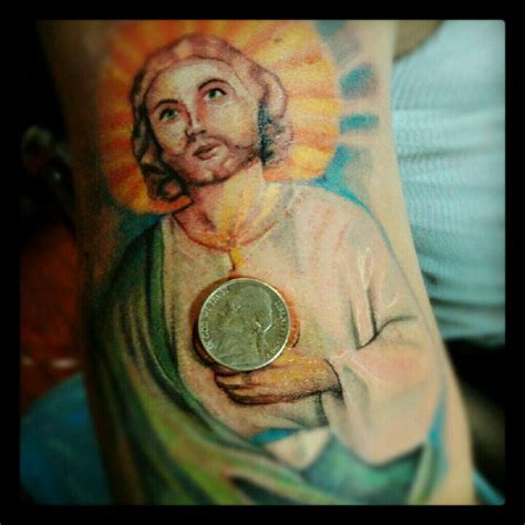 san judas gotta love that lil detail my tattoo brain