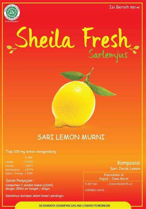 Sari Lemon sari lemon fresh sari lemon jus lemon jeruk lemon