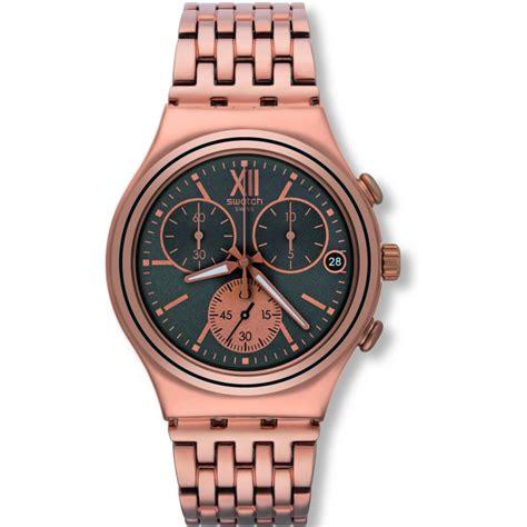 Swatch Irony Chronograp Original unisex swatch eisern chrono chronograf uhr ycg412g