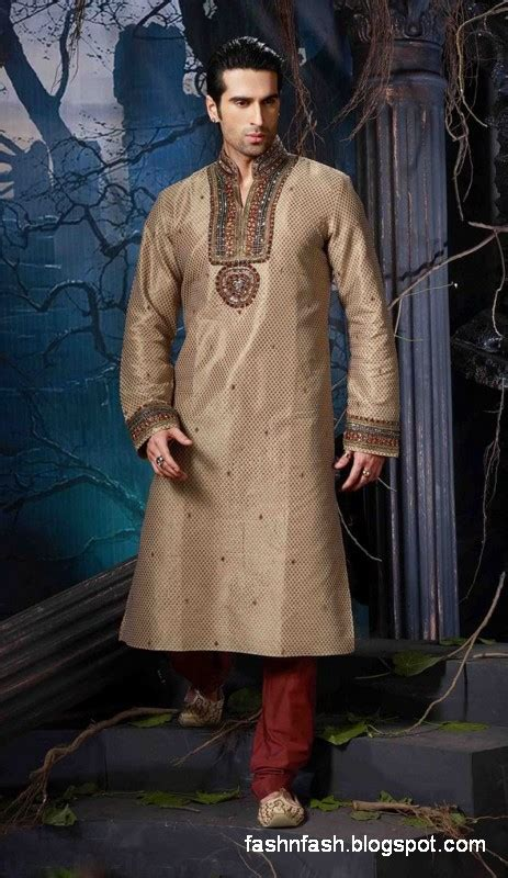 simple kurta designs for men joy studio design gallery indian art silk mens kurta pajama in deep beige colour