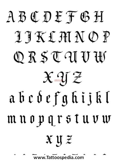 extreme tattoo fonts w tattoo fonts 1