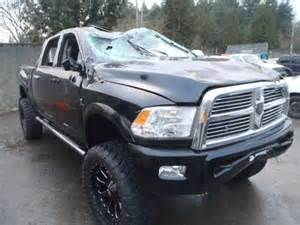 Wrecked Dodge Trucks For Sale Salvage 2012 Dodge Ram Truck For Sale