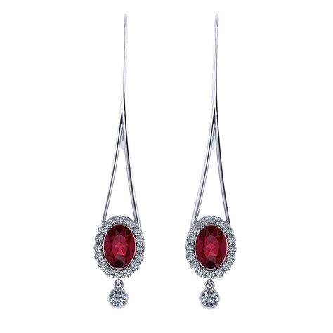 jewelry designs earrings ruby drop earrings jewelry designs