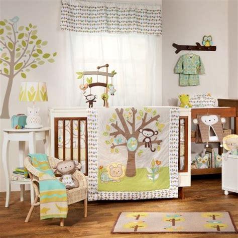 lolli living animal tree crib bedding collection baby