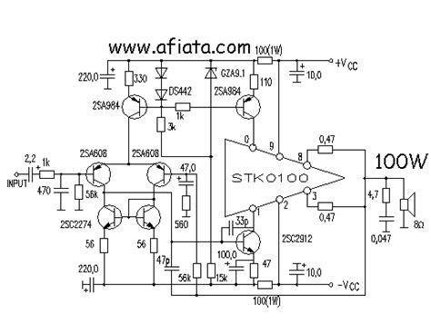 Power Lifier Stk simple guitar lifiers schematic simple guitar design