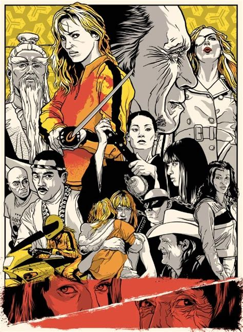 quentin tarantino film art an art show tribute to the films of tarantino and the coen