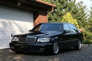 Mercedes W 140 Mercedes W140 S600 Lorinser Black Benztuning