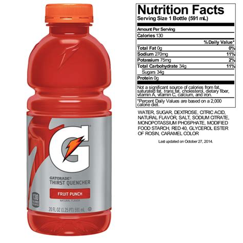 8 facts about carbohydrates 8 simple ways to gatorade nutrition facts sugar