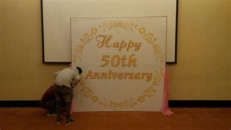wedding anniversary ideas on a budget 50th wedding anniversary decorations in low budget in
