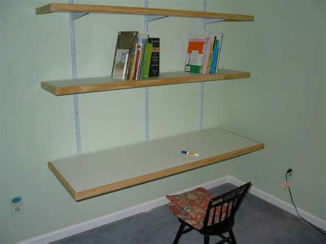 do it yourself desk book shelves basement ideas