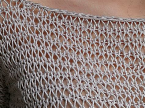 Maille Serrée Au Crochet by Comment Tricoter La Maille Ajouree
