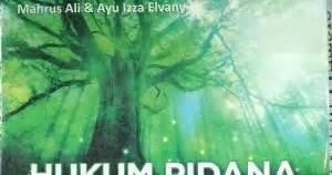 Hukum Pidana Korupsimahrus Ali Uii Press Toko Buku Sang Media Hukum Pidana Lingkungan