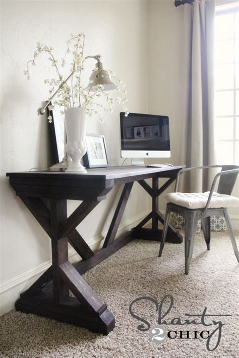 desk in bedroom diy desk for bedroom farmhouse style shanty 2 chic