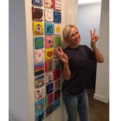 yolanda foster family art wall small painting gallery wall paint it monday yolanda