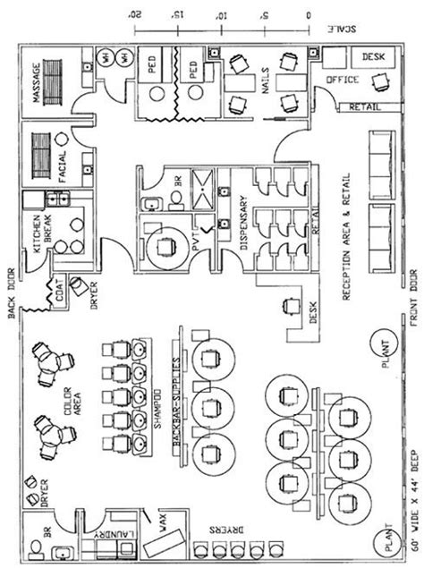 tanning salon layout design really like this setup but it would need gift shop and