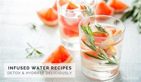 Infused Water Detox Indonesia by Infused Water Recipes That Help You Hydrate Detox All At