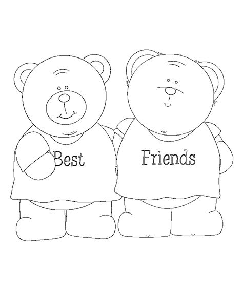 free coloring pages of bff picture