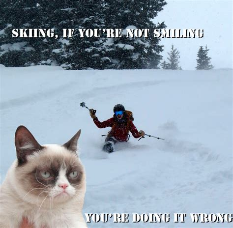 Ski Meme - ski meme 28 images nailed it ski meme laugh pinterest beats skiing like a boss voldemort