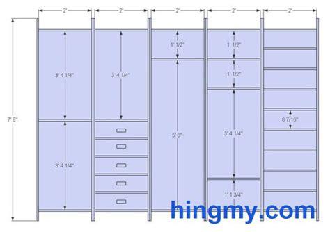 Standard Wardrobe Width - designing a built in closet diy tips from hingmy