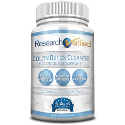 Detox Cleanse Center research verified colon detox cleanse review colon