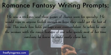 8 Romance Fantasy Writing Prompts To Help Spark Your