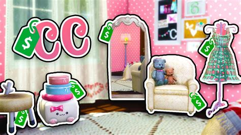 sims 4 cc home decor the sims 4 cc shopping home decor youtube