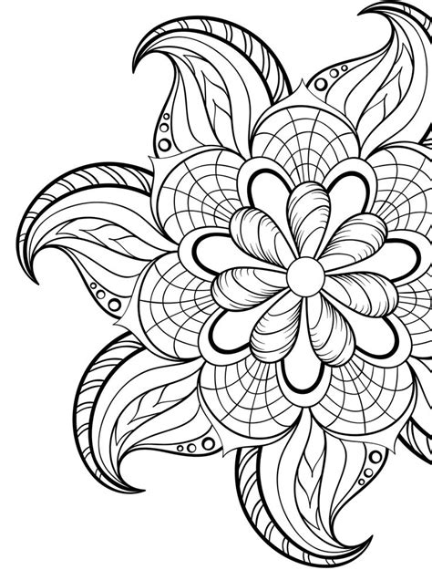 adult coloring sheets free coloring sheet printable adult coloring pages flowers easy printable
