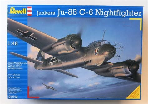 junkers ju 88 the 1848324758 revell 1 48 04542 junkers ju 88 c 6 nightfighter model kit