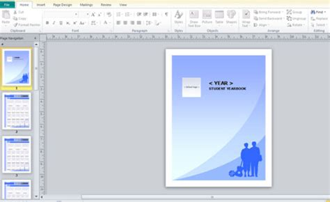 yearbook powerpoint template yearbook template for microsoft publisher powerpoint