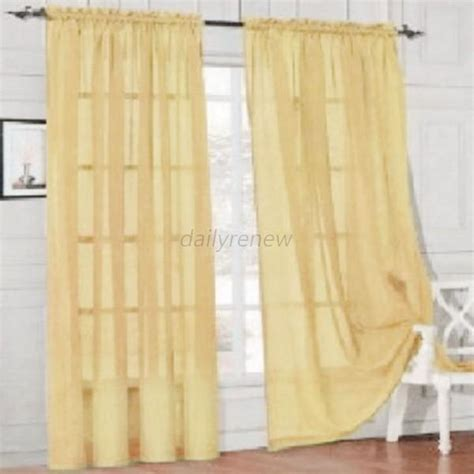multi colored curtain panels door room voile window curtain sheer panel drapes scarfs