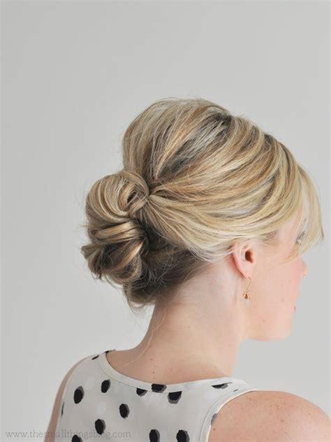 Updo Hairstyles For Fine Hair 2015   19 preciosos peinados para pelo fino peinados