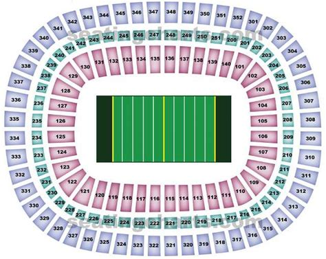 atlanta falcons seating chart prices dome seating chart falcons mercedes stadium