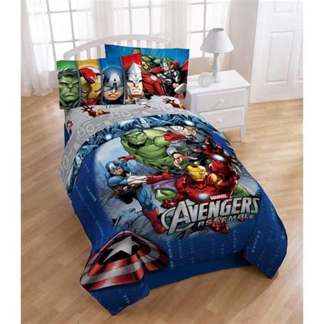 bed in a bag twin boy twin boys reversible avengers comforter sheets bed in a bag bedding set ebay