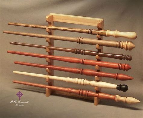 wood wand wall display stand   wands pacific nw