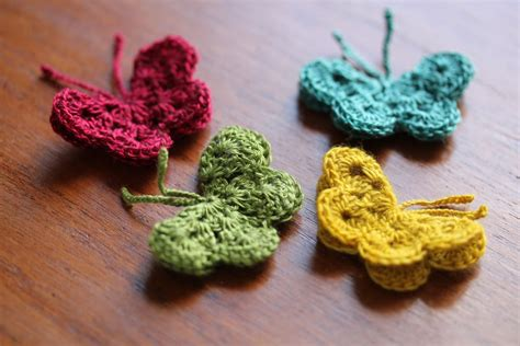 butterfly pattern in crochet crochet butterfly tutorial homegrown joy