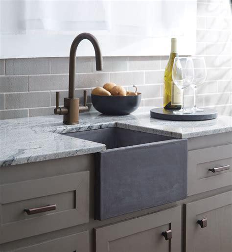 kitchen sinks las vegas trails debuts nativestone concrete sinks at kbis