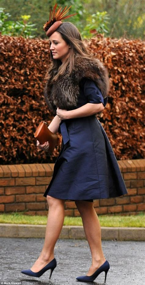 Wedding Attire In Ireland by Pippa Middleton Attends Friend S Wedding In Ireland